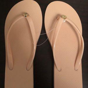 Tory Burch Pink Flip Flops